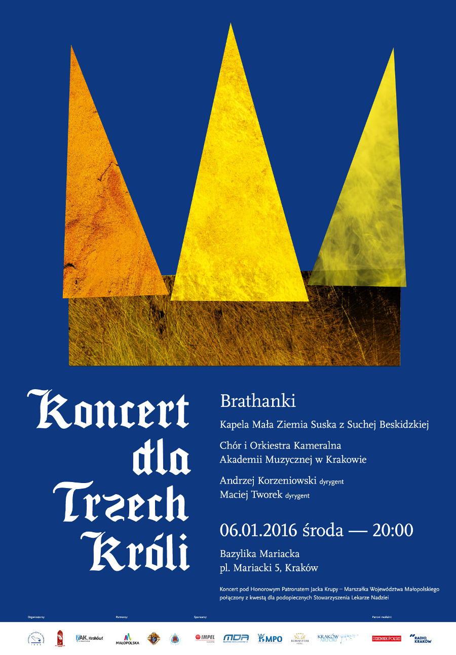 Koncert dla Trzech Króli - Bazylika Mariacka