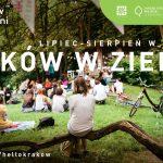 Kraków w Zieleni_grafika