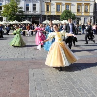Cracovia Danza na Krakowskim Rynku - foto Małgorzata Rzeszutek