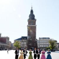 Cracovia Danza na Krakowskim Rynku - foto Andrzej Wodziński