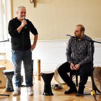 Adeb Chamoun w Dworku Białoprądnickim - Kraków, styczeń 2020