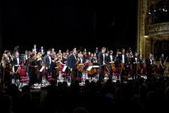 Koncert Orkiestry Medyków Uniwersytetu Semmelweisa - Kraków 2021,  foto: Andrzej Wodziński