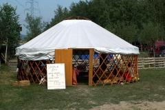 Czajowa Jurta - festiwalowa oaza