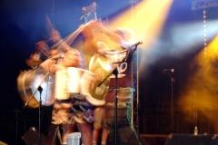 Lemon Bucket Orkestra ... tu najlepiej widać tempo w jakim się poruszali