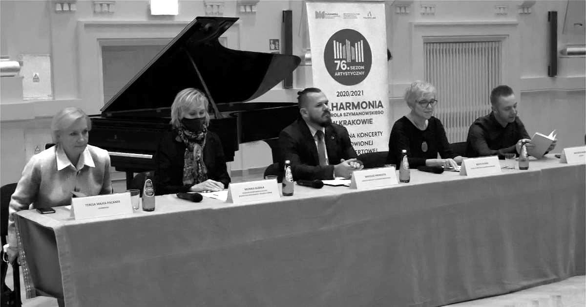 Filharmonia Krakowska – otwarcie 76 sezonu koncertowego, konferencja prasowa