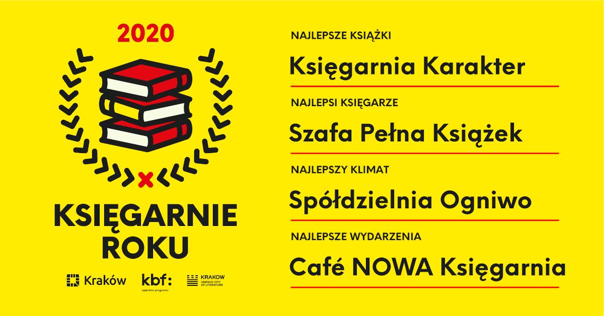 Krakowskie Księgarnie Roku 2020