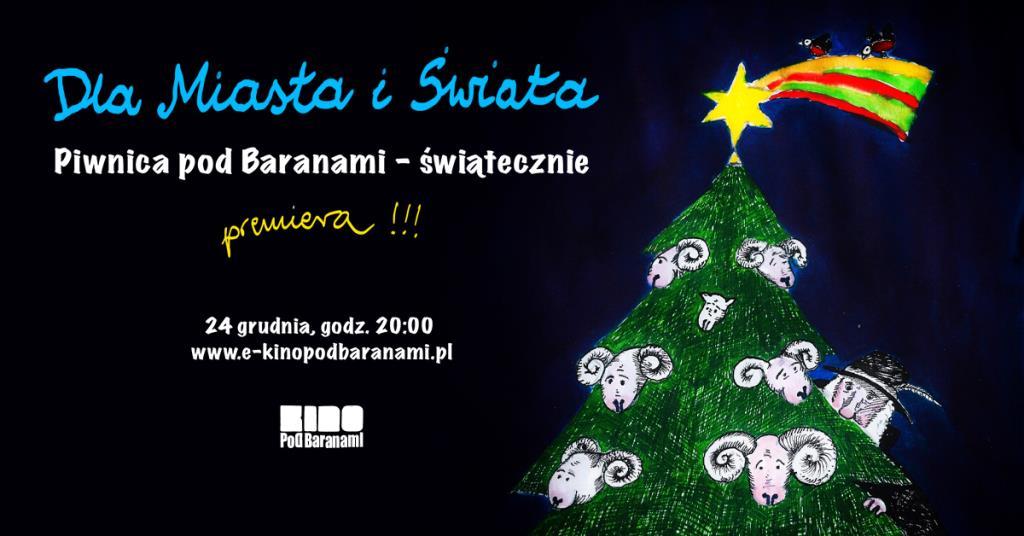 Piwnica Pod Baranami – premierowy pokaz koncertu w E-Kinie Pod Baranami