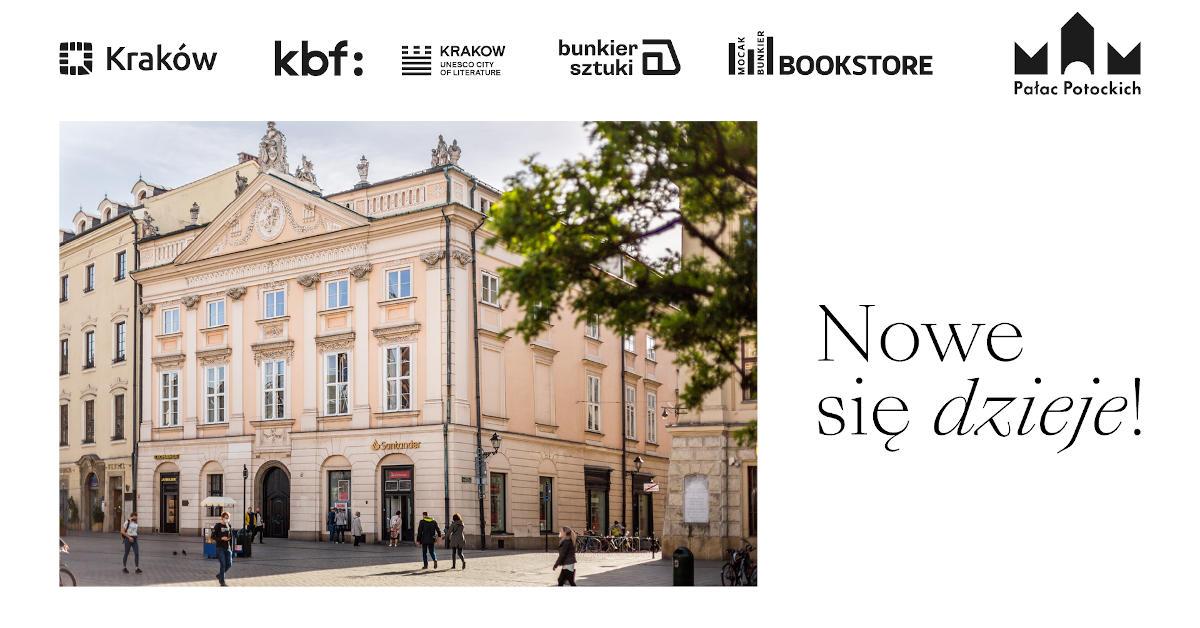 Nowe się dzieje! program wydarzeń kulturalnych w Pałacu Potockich